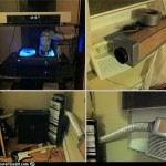 Xbox 360 cooling mod uses the Air Conditioner