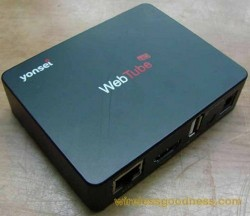 Yonsei WebTube HD Box stops by the FCC