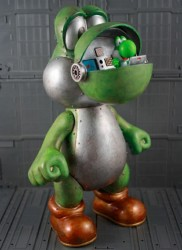 Mechanical Yoshi is on the rampage
