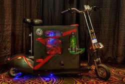 The Scooterputer PC lets you game on the go