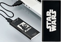 Darth Vader and R2-D2 USB hand warmers