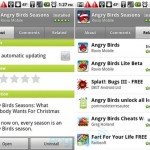 Android Market gets 'Related' apps tab without Android 2.3