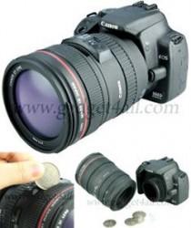 Canon DSLR coin bank