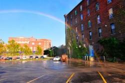 Solar-powered rainbow machine
