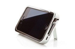 iKit launches Chrome iPhone 4 case with kickstand