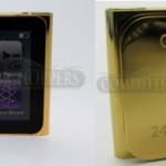 iPod Nano 6G gets dipped in 24kt Gold