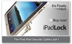 iPadLock protects your iPad