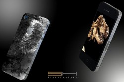 iPhone made from Dinosaur tooth and Space debris