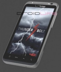 HTC Thunderbolt to be Verizon's first 4G LTE handset