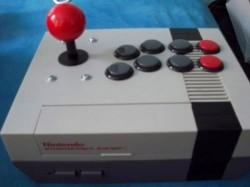 NES console joystick mod
