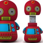 Retro Toy Robot USB Flash Drive