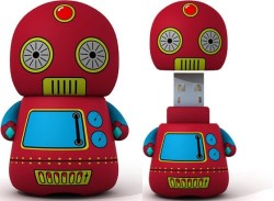 Retro Toy Robot USB Flash Drive