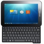 Samsung Gloria 10-inch Windows 7 tablet with slide-out keyboard