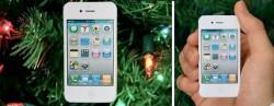 White iPhone 4 Ornament