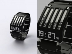 HorodronHD-01 concept watch with E-Ink display