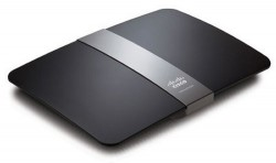 Linksys E4200 Wireless-N Router sports a stylish design