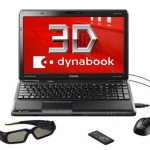 Toshiba announces dynabook 3D Notebook