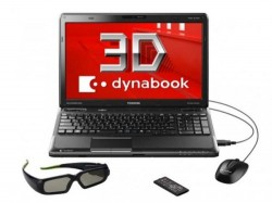 Toshiba announces dynabook 3D Notebook