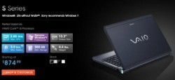 Customizable Sony VAIO S notebooks now available