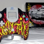Sega Dreamcasts get custom paint jobs