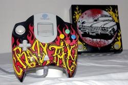 Sega Dreamcasts get custom paint jobs