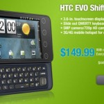 RadioShack offering HTC EVO Shift 4G in stores