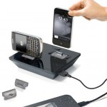 Idapt i2+ universal charging dock will charge your Nexus S and your iPhone 4 at the same time