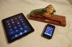 Jabba The Hutt iPad Docking Station
