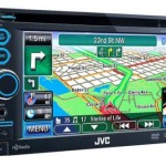 JVC KW-NT30HD / 50HDT navigation systems with iPhone-controlled HD radio