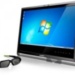 Lenovo L2363d 3D monitor with 3D webcam and 3D glasses