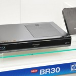 Panasonic DMR-BR30 Blu-ray recorder with swappable hard drives