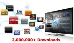 Samsung's HDTV-based app store passes two million downloads
