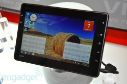 Viliv X70 Windows 7 tablet with Oak Trail processor