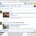Microsoft Bing toolbar integrates Facebook