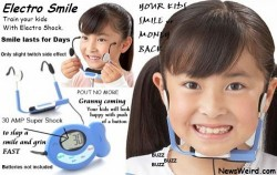 Crazy gadget forces your kids to smile