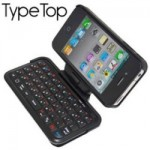 iPhone 4 TypeTop Swivel Mini Bluetooth keyboard