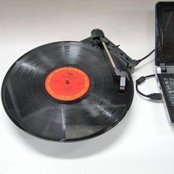 USB powered Turntable