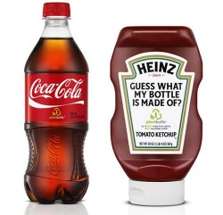 Coke and Heinz to use PlantBottles