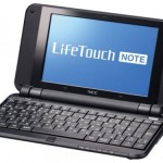 NEC announces LifeTouch Note Android Netbook