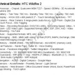 HTC Wildfire 2 specs revealed