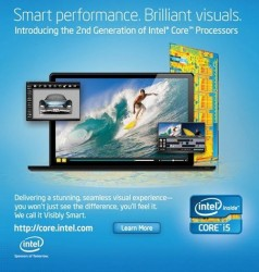 Intel ad teases black MacBook