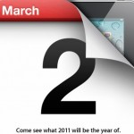 iPad 2 Apple Event confirmed for March 2nd
