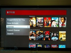 Samsung HDTVs getting updated version of the Netflix Watch Instantly interface