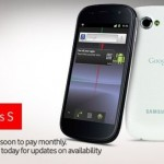 White Nexus S coming soon to Vodafone