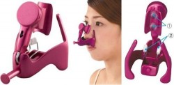 Gadget uses electric vibrations to straighten your nose