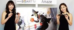 Samsung demonstrates new 3D SmartTV that won't cause dizziness