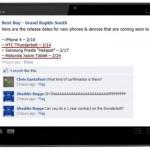 Motorola Xoom hitting Best Buy on February 24th, HTC Thunderbolt Feb 14th