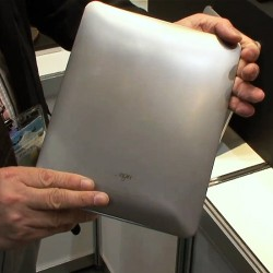 Titanium ARMOR iPad cover