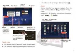 Motorola Xoom Android tablet manual leaked