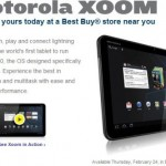 Motorola Xoom up for in-store pre-order at Best Buy